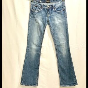 """Express Jeans """"Distressed"""""""
